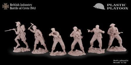 Britains AWI Swoppet British Infantry Plastic Figures Spare Parts